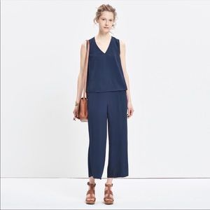 Madewell Open Back Jumpsuit